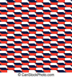 Seamless geometric abstract pattern in vector format