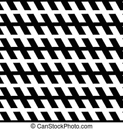 Seamless geometric background. Abstract repeatable monochrome pattern / texture.