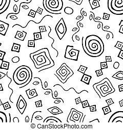 Seamless geometric background