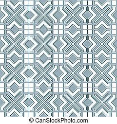 Seamless geometric background in islamic style