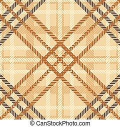 Seamless geometric checked pattern - Elegant seamless...