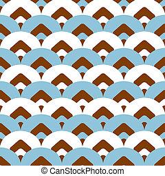 Seamless geometric colorful pattern background