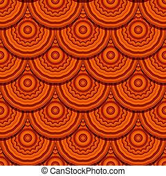 Seamless geometric design