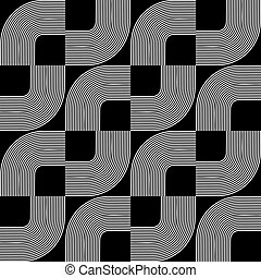 Seamless geometric design.