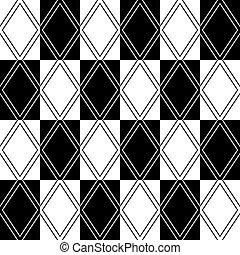 Seamless geometric diamonds pattern.