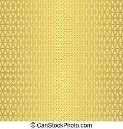 Seamless geometric gold pattern