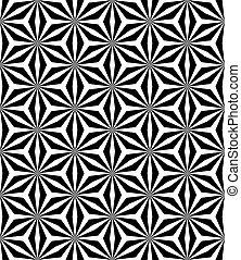 Seamless geometric op art pattern. - Op art pattern. ...