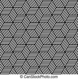 Seamless geometric op art pattern. - Seamless geometric ...