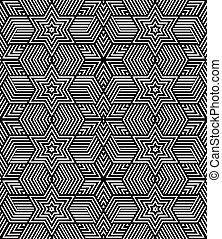 Seamless geometric op art texture. - Seamless geometric ...