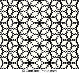 Seamless geometric pattern based on Kumiko ornament .