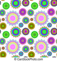 seamless geometric pattern extended