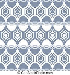 Seamless geometric pattern in grey