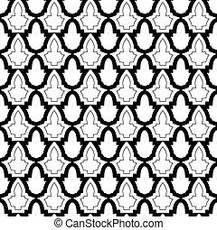 Seamless geometric pattern in islamic style. - Seamless...