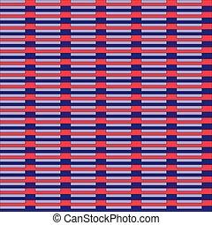 Seamless geometric pattern in purple colors