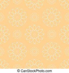 Seamless geometric pattern of circles eps 10