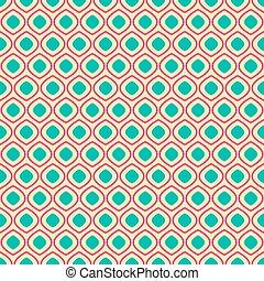 Seamless geometric pattern on light yellow background