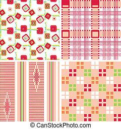seamless geometric pattern print