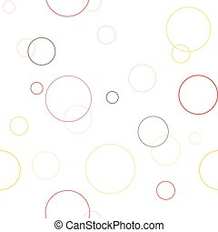 Seamless geometric pattern texture with circles