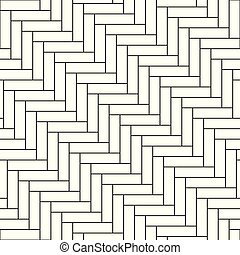 Seamless geometric pattern - vector simple background