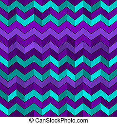 Seamless geometric pattern with zigzags - Vector seamless...