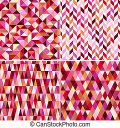 seamless geometric pink pattern