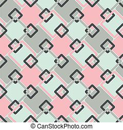 seamless geometric retro pattern -