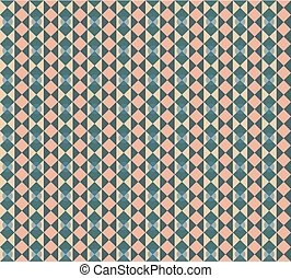Seamless geometric retro styled vector pattern