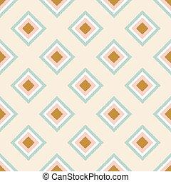 seamless geometric rhombus pattern