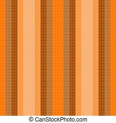 Seamless geometric striped checkered bright orange pattern stylish background, wallpaper with an ornament of colorful stripes, squares, fabric design, wrapping paper, packaging, tablecloths, covers