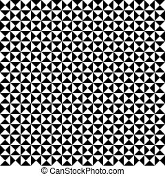 Seamless  geometric triangle pattern