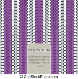 Seamless geometric vector art pattern