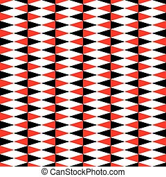 Seamless geometric vintage triangle pattern background