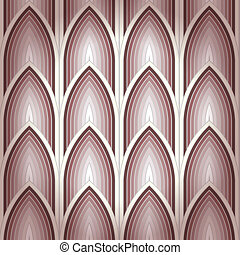 Seamless geometrical background - Seamless gothic background...