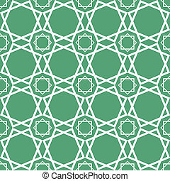 Seamless geometrical islamic textur