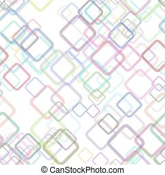 Seamless geometrical square pattern background - vector ...