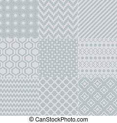 seamless, geometrico, struttura, modello