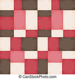 seamless, geometrisch patroon