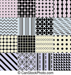 seamless, geometrisches muster