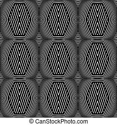 seamless, geometryczny, texture., op, sztuka, pattern.