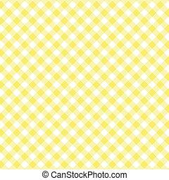 seamless, giallo, pattern., percalle