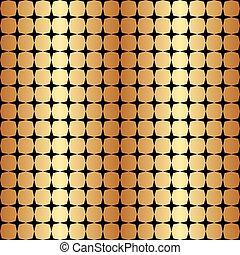Seamless Gold Geometric Star Pattern