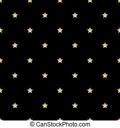 SEAMLESS GOLD GLITTER STAR PATTERN ON BLACK BACKGROUND