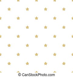 SEAMLESS GOLD GLITTER STAR PATTERN ON WHITE BACKGROUND