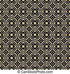 Seamless gold pattern.