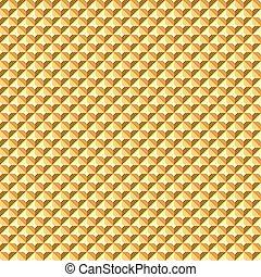 Seamless golden relief texture. - Seamless golden geometric...