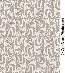 Seamless golden vector wallpaper