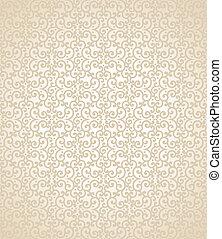 Seamless golden wallpaper