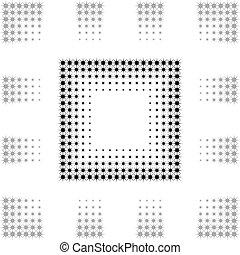 seamless Gradual frame