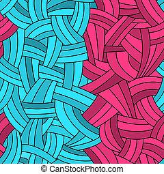Seamless graffiti lines background