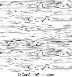 seamless, grano legno, grigio, pattern., struttura legno, vettore, fondo.